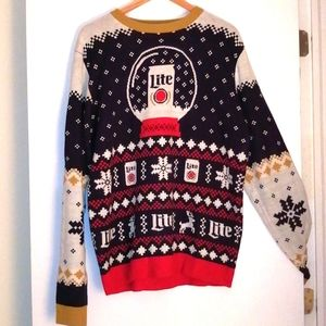 Coors lite Christmas sweater